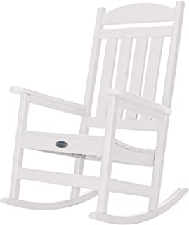 product image for Nags Head Hammocks Classic Porch Rocker, White
