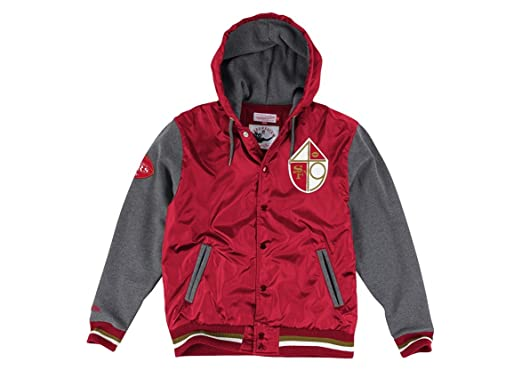 pretty nice 4ed2a 415dc San Francisco 49ers Mitchell /& Ness NFL Snap Throwback Vest ...
