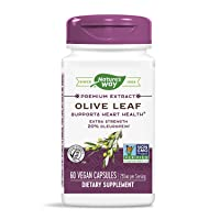 Nature's Way Premium Extract Standardized Olive Leaf 20% Oleuropein, 250 mg per...