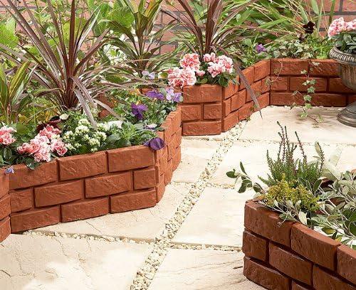 Good Ideas 1169 - Bordes para delimitación de jardín de ladrillo ...
