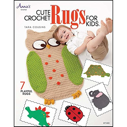 Deborah Norville Cute Crochet Rugs for Kids Crochet Book by Deborah Norville