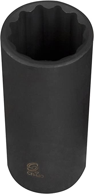 Sunex 214qd 1//2-Inch Drive 7//16-Inch 8-Point Deep Impact Socket Sunex International