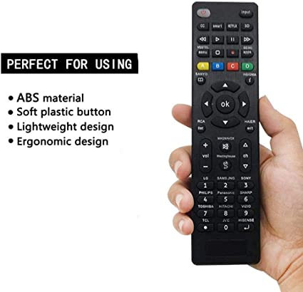 MYHGRC The universal TV remote control is compatible with the ...