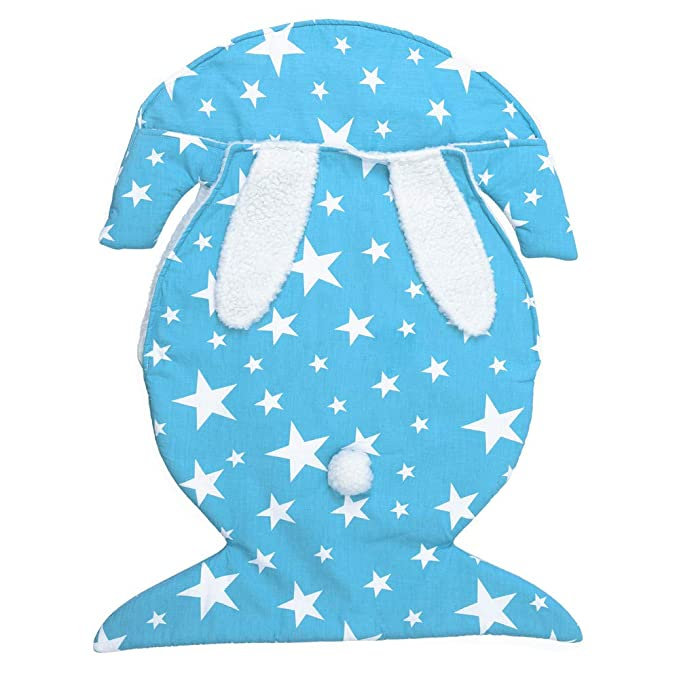 Mitlfuny Invierno Grueso Swaddle Wrap Franela Saco de Dormir para Bebé Niños Manto Envolvente Recién Nacido