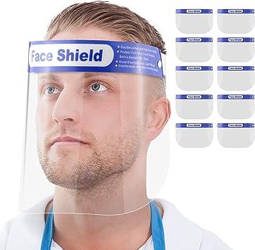 Gesichtsschutz-Schirm Augenschutz Spuckschutz Face-Shield Schutzschild Gesichtsschirm