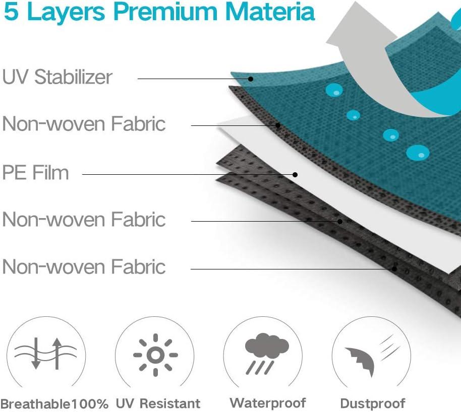 Cubierta del coche se adapta a Volkswagen Eos Calidad Premium-Protección Uv