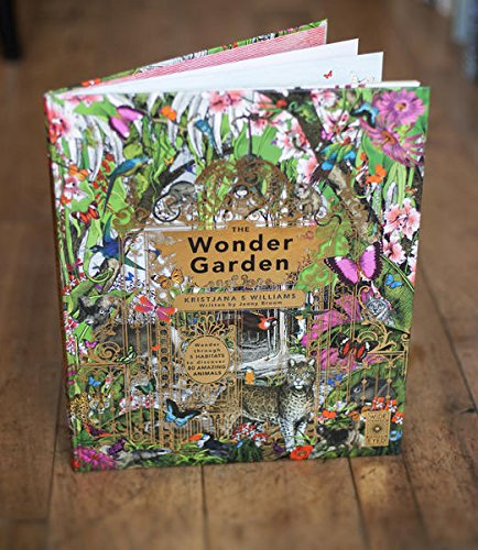 The Wonder Garden: Wander through 5 habitats to discover 80 amazing animals by Wide Eyed Editions (Image #10)