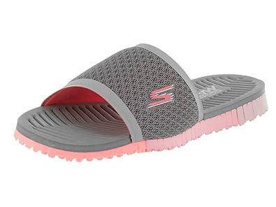 58cffe95d29c Skechers Women s Go Flex - Cheer Sandal 5 Grey