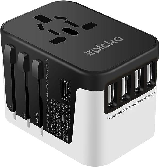 Amazon.com: EPICKA - Adaptador universal de alimentación de ...