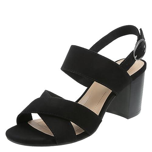 aad60761a989 Dexflex comfort black womens sam banded block heel sandal regular heeled  sandals jpg 500x500 Dexflex sandals