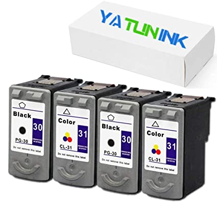 yatunink 4 cartuchos de tinta para Canon MP210 Printer: Amazon.es ...