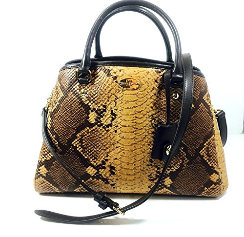 All Natural Python Carry Multi Small COACH Margot 84azIzq