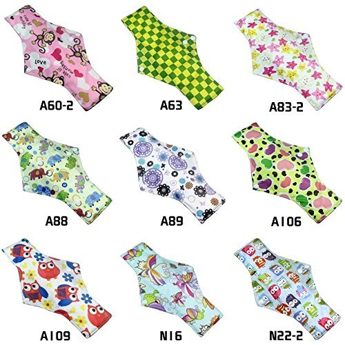 Bamboo Reusable Sanitary Pads Pack