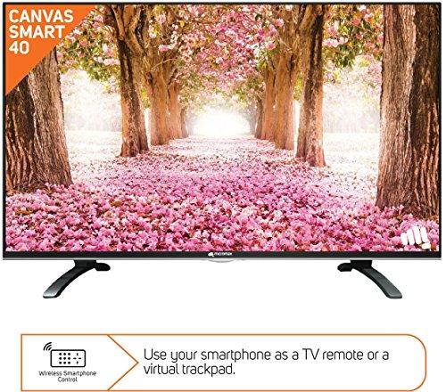 Micromax Canvas Pro Smart S2 101CM (40-inch) Full HD LED Smart TV (Black)