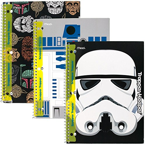 star-wars-trapper-keeper-notebooks-with-snapper-trapper-by-mead-1-subject-wide-ruled-3-pack-73499