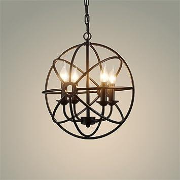 BB.er Lichter American Country Birdcage Kerzen Pendelleuchten Klassische Vintage  Retro Lampen Loft Globe Pendelleuchte