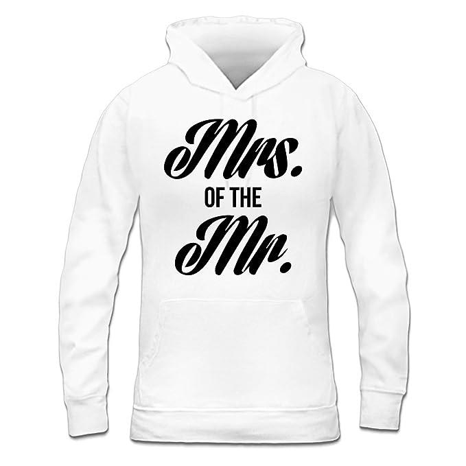 Sudadera con capucha de mujer Mrs. Of The Mr. by Shirtcity: Amazon.es: Ropa y accesorios