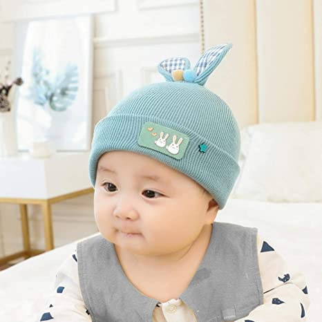 905494d4 Image Unavailable. Image not available for. Color: Myzixuan Baby hat  Thicken Children's Hats Fall Winter ...