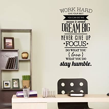 Amazon Com Uaeay Office Classroom Motivational Inspirational Quote