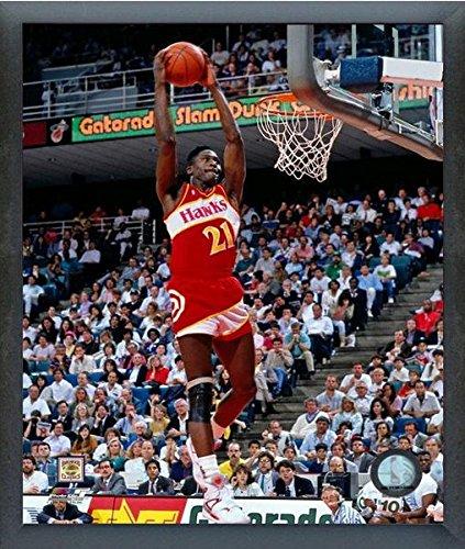 Dominique Wilkins Atlanta Hawks NBA Action Photo (Size: 12