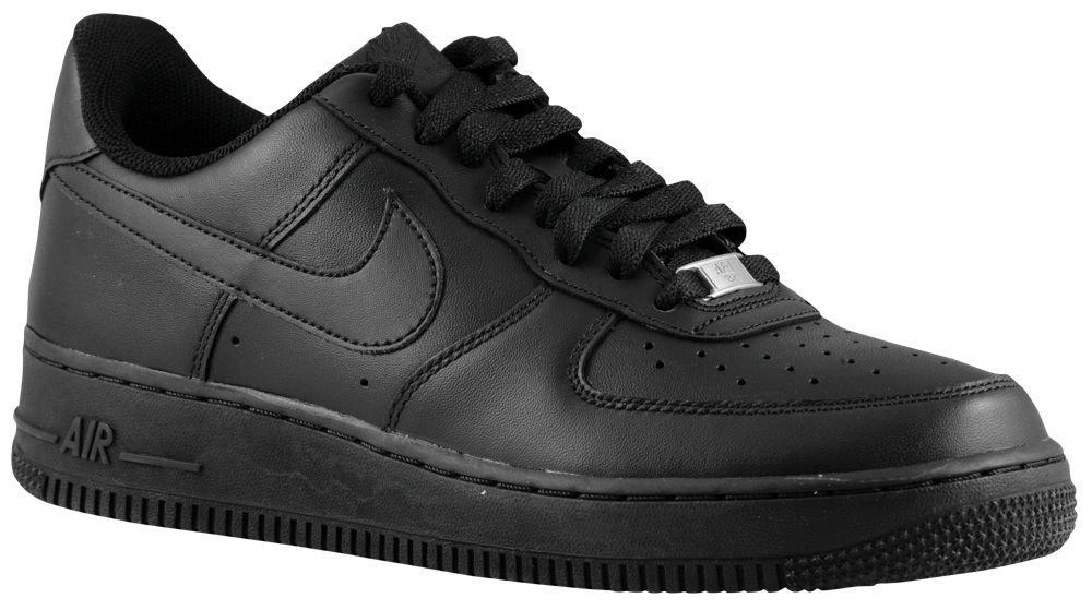 [ナイキ] Nike Air Force 1 Low - メンズ バスケット [並行輸入品] B071776933 US08.5 ブラック/ブラック