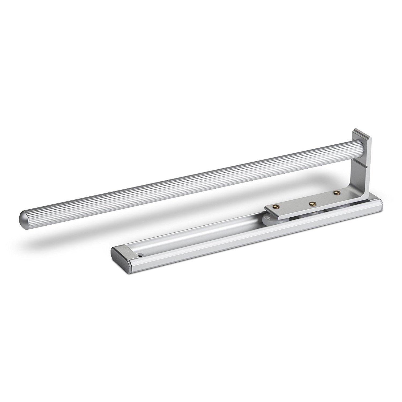 SO-TECH® Extendable Towel Holder 1-arm 325 mm Aluminum Finishing Towel Bar Towel Rail SOTECH SO1-17a