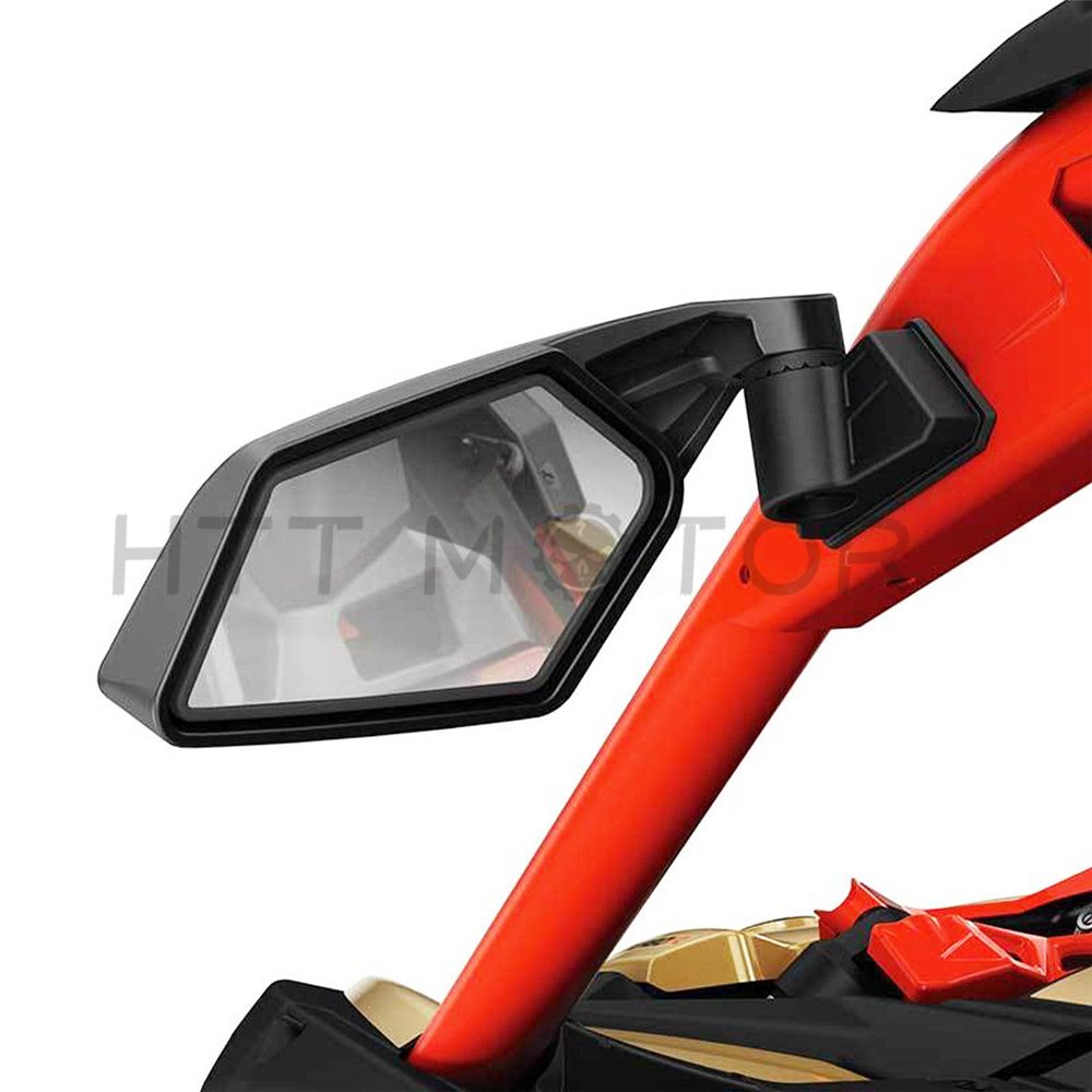 XKMT Group New Racing Side Mirrors For Can-Am Maverick X3 & MAX SSP UTV Off-road