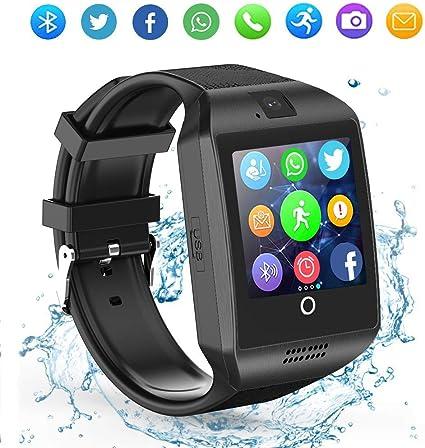 Amazon.com: LAHYXAL - Reloj inteligente con pantalla táctil ...