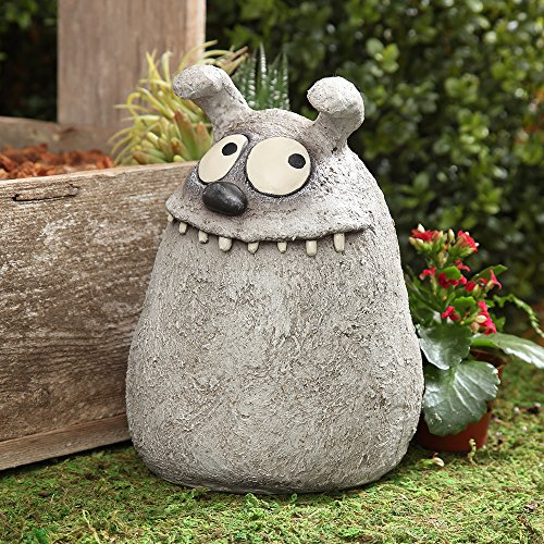 Huck Dog Sculpture, by Blobhouse, Decorative Sculpture for Home Outdoor Garden Lawn Indoor Art Accent