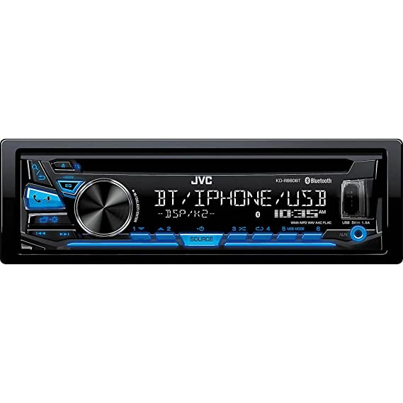 fd73fcfcd21 Amazon.com  JVC KD-R980BTS CD Receiver with Bluetooth  Cell Phones ...