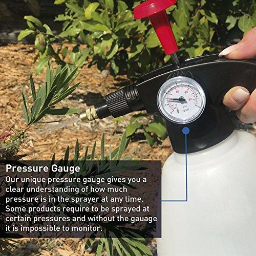 easygo-spray-bottle-1-liter-34-ounces-hand-pump-pressure-sprayer-wpressure-gauge-mister-setting-great-for-gardening-fertilizing-cleaning-general-use-spraying-water-chemicals-pesticides
