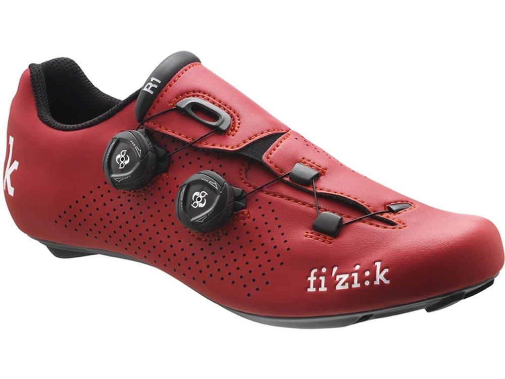 FIZIK(フィジーク) SHOES R1B UOMO <レッド/レッド> ロードシューズ B01M34QABK 37.5(24.0cm)