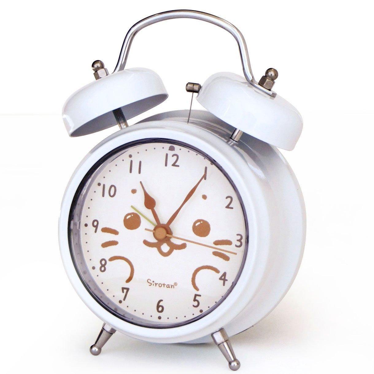 しろたん 目覚まし時計 メロディーアラーム「ぼくはしろたん」 B071D7BQ9J