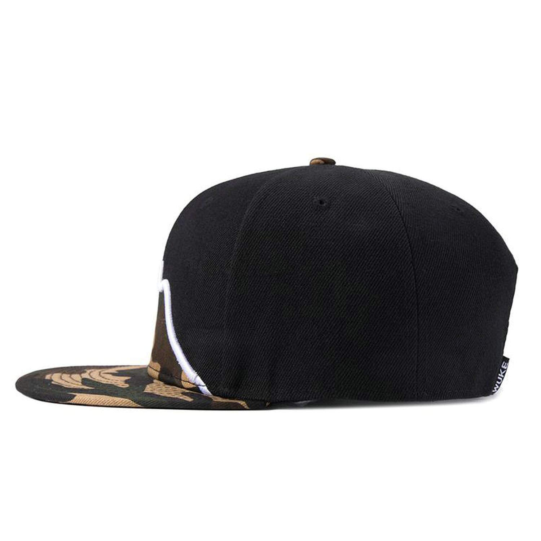 Caps for Men Flat Brim Straight Strapback Hat for Women Baseball Caps Snap Back Hip Hop Masculino