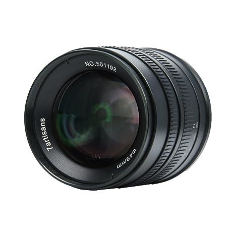 7artisans F1.4 - Lente de cámara para Fuji FX-Amount XT1 XT2 XT10 ...