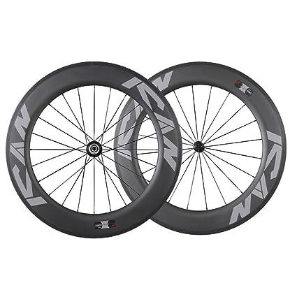 Carbon Road Bike Amazon Com >> Amazon Com Ican 86mm Carbon Time Trial Wheelset Triathlon Aero