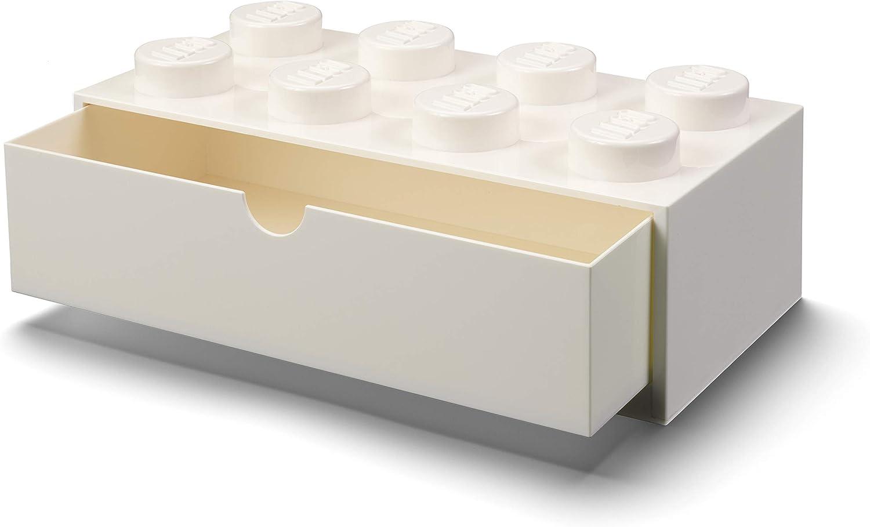 LEGO Desk Drawer 8, White