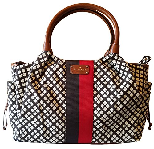 - Kate Spade New York Stevie Baby Bag Chocolate Style #WKRU1523