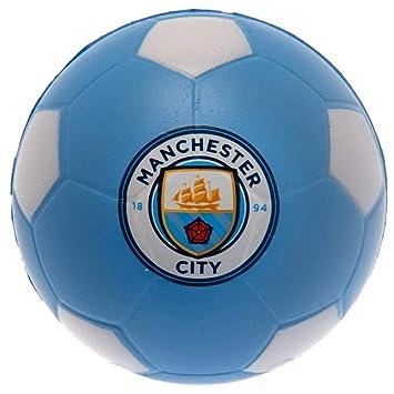 Manchester City F.C. Pelota antiestrés: Amazon.es: Juguetes y juegos