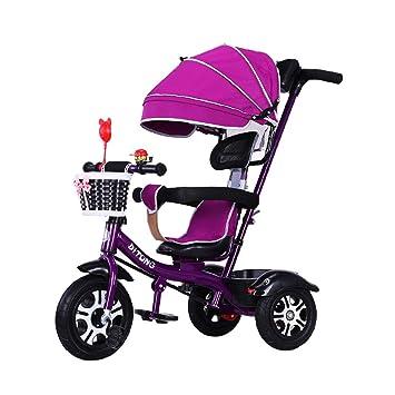 Bicicleta Infantil de 3 Ruedas para cochecitos de bebé de 1 a 3 años de Edad