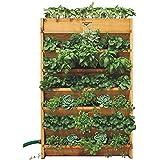 Gronomics VG3245 Vertical Garden Planter, 32-Inch by 45-Inch by 9-Inch
