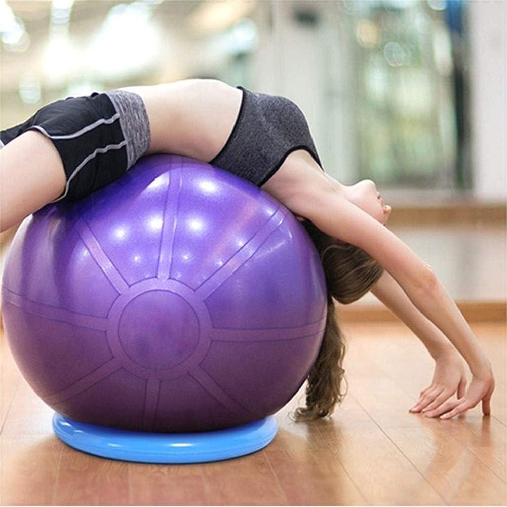 AZLMJXH Yoga Yoga bola anillo fijo Anillo Principiante Pelota de ejercicio Pilates aptitud balance de la gimnasia de la bola de estabilidad fijaci/ón de posicionamiento Anillo Fitball entrenamiento ade