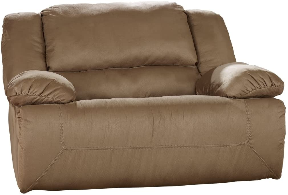 Ashley Hogan Zero Wall Wide Seat Recliner Mocha