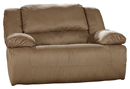 Ashley Furniture Signature Design   Hogan Oversized Recliner   Mocha
