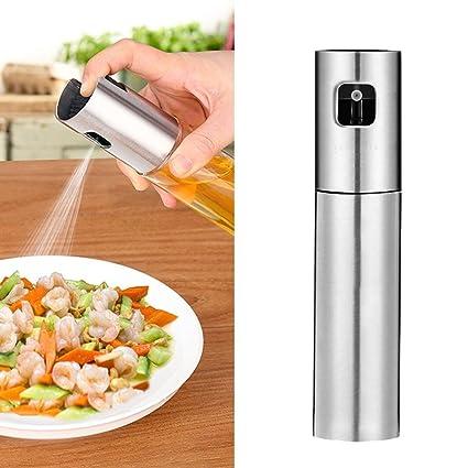 Pawaca Aceite de oliva para cocinar, dispensador de aceite, botella de vinagre, dispensador