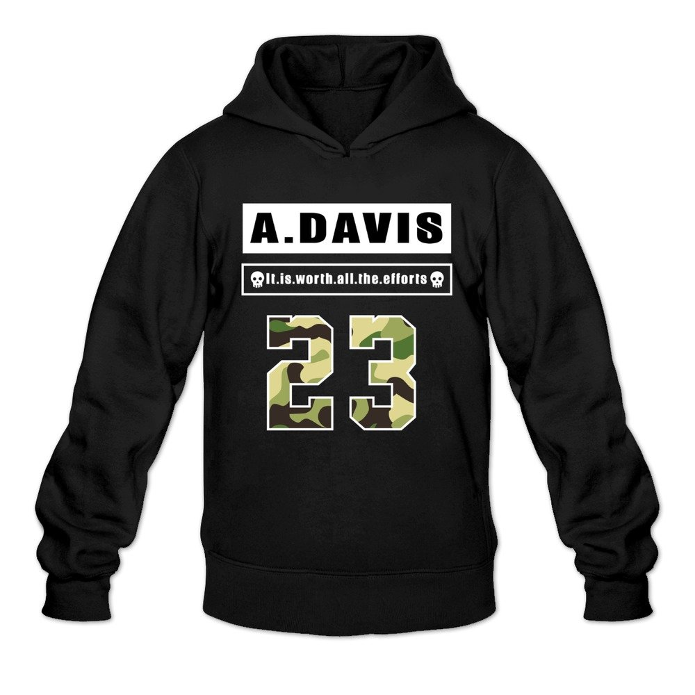 Valuable Destroyer Anthony 23 Davis Hoodies Mens