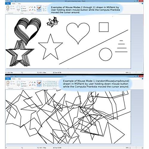 2-Pack) eRCaGuy Computa Pranksta Programmable USB device/Mouse