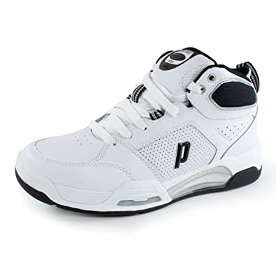 2156d994d8a66f Image Unavailable. Image not available for. Color  Prince NFS Viper VII Mid Men s  Tennis Shoes (White Black) ...