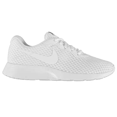 nike tanjun trainers ladies white