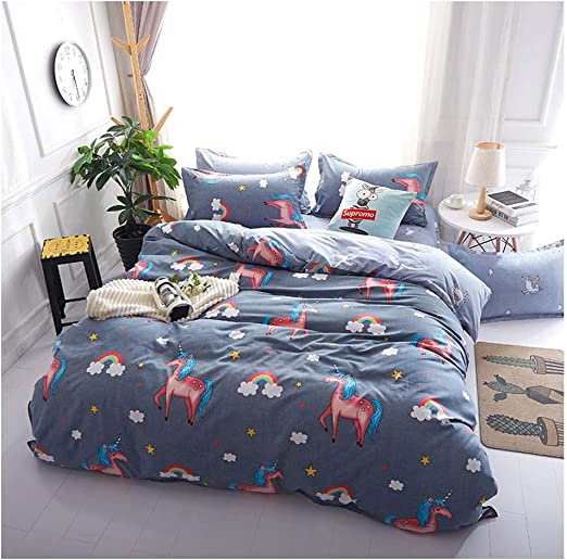 DUVET COVER 2PC TO FIT JUNIOR BED Green BABY BEDDING SET PILLOWCASE